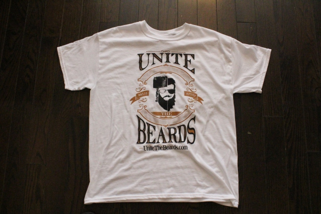 Unite The Beards T-Shirt Front